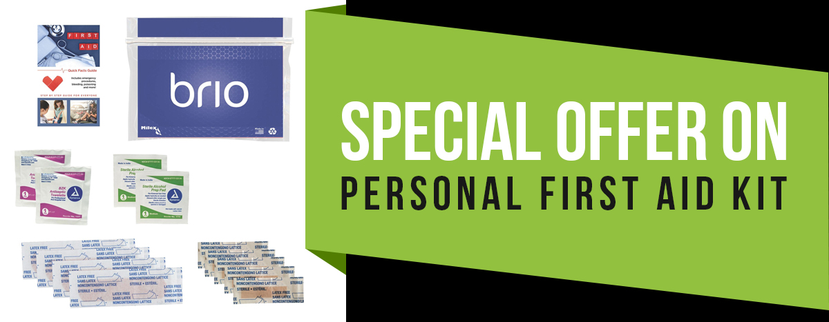 Special Offer on Personal First Aid Kit